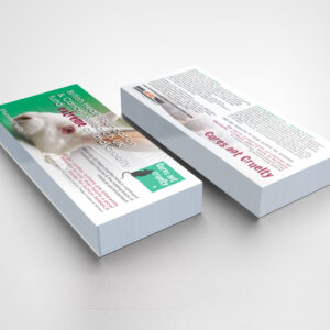 Cures Not Cruelty Leaflets