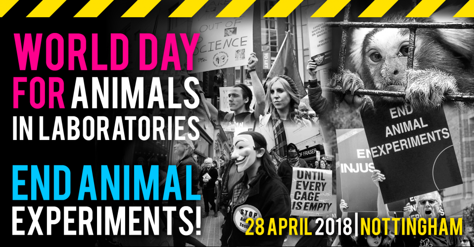 Animal Justice Project: World Day for Animals In Laboratories 2018