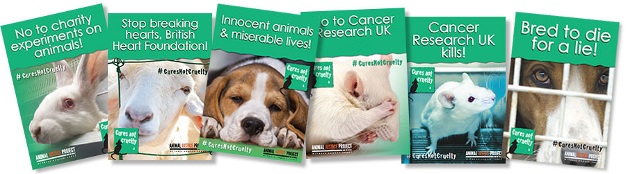 Cures Not Cruelty Posters