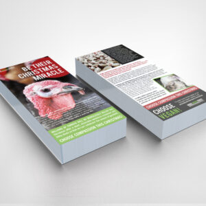 Be Their Christmas Miracle Leaflets